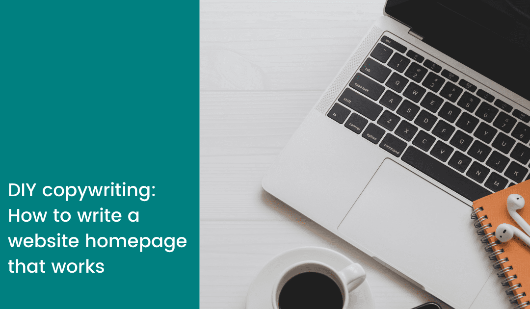 how to write a website homepage that works